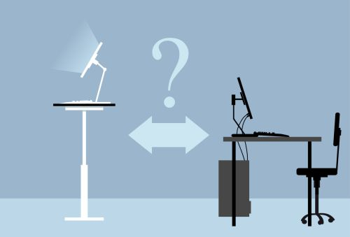 עבודה בעמידה או ישיבה?
